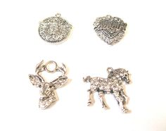 Western Crystal Charms. Contact us for details or to order at alice@atgtexas.com
