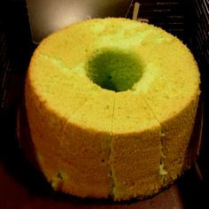 Pandan chiffon cake ..