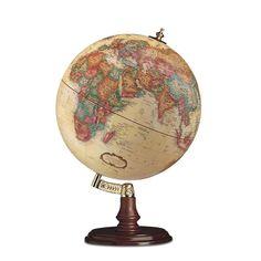 Antique globe.