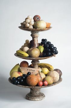 stone fruit on tiered pedestal,Northeast auctions