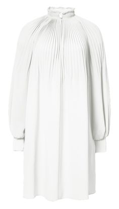 80603669f375ca TIBI Edwardian Silk Short Dress.  tibi  cloth   Silk Crepe