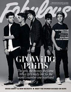 1D Fabulous Magazine exclusive shoot