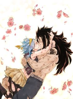 Welcome to my art blog! I'm in love with Gajevy so you'll see lots of it here (some Nalu & Jerza as...