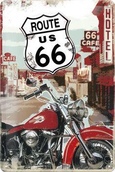 Motos Vintage, Vw Vintage, Vintage Motorcycles, Vintage Bikes, Route 66 Theme, Route 66 Road Trip, Kombi Trailer, Dibujos Zentangle Art, Rolling Stones Logo