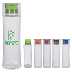 48 Personalized Plastic Water Bottles, Custom Printed Water Bottles, Price Includes Water Bottles With One Color Imprint