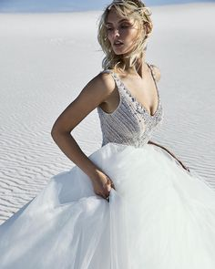For every bride, there is a perfect wedding dress waiting to be discovered. it's all here at Maggie Sottero. Aline Wedding Gowns, Simple Wedding Gowns, Vintage Inspired Wedding Dresses, Gorgeous Wedding Dress, Gown Wedding, Tulle Wedding, Crystal Wedding, Simple Weddings, Beautiful Bride