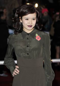 Katie Leung im Jahr 2010 Katie Leung, Cho Chang, Harry Potter Film, Star Wars, Tom Felton, Attractive People, Celebs, Celebrities, Hogwarts