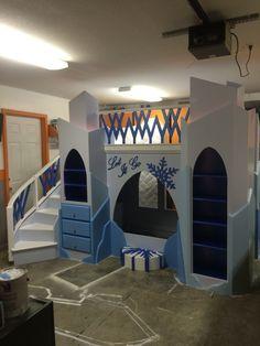 Frozen Theme Bed