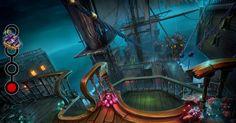 """写真: Do you know what Davy's crew has stolen?  Second clue: The ship's crew has a bad taste in jokes – they laugh about """"A board on board"""" and want to play games with the captain…"""