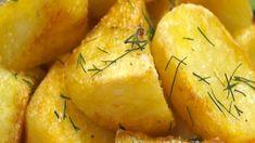 Zkuste brambory trochu jinak. Máme pro vás recept na křupavé pečené brambory s chutí soli a bylinek. Zaujmou strukturou, chutí a příjemnou vláčností uvnitř Cantaloupe, Pear, Pineapple, Potatoes, Fruit, Vegetables, Pinecone, Potato, The Fruit