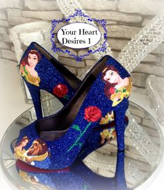 Beauty and the beast custom disney inspired by yourheartdesires1