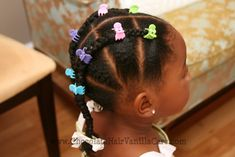 Piggyback Braids (or Faux French Braids) | Chocolate Hair / Vanilla Care: Style Gallery