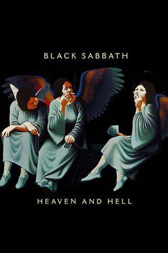 Camiseta Black Sabbath Heaven and Hell Black Sabbath Albums 99a05fc1896a4