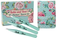 Shop for Eyebrow Tweezers Set By Bella And Bear. Stainless Steel 3 Piece Tweezers Set With Case, Includes Slant, Pointed And Flat Tip Tweezers. Starting from Choose from the 2 best options & compare live & historic beauty prices. Best Tweezers, Eyebrow Tweezers, Plucking Eyebrows, Brow Shaping, Eyeliner Brush, Eyelash Curler, Skin Care Tools, Beauty Awards, Beauty Magazine