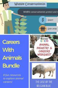 55 Animals Careers Ideas In 2021 Stem Careers Career Exploration Animals