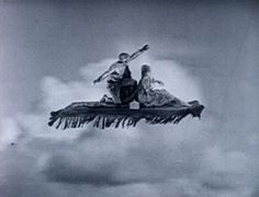 Flying Carpet from The Thief of Bagdad, 1924