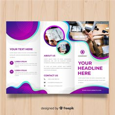 Discover thousands of copyright-free vectors. Graphic resources for personal and commercial use. Thousands of new files uploaded daily. Brochure Cover Design, Brochure Layout, Brochure Template, Brochure Trifold, Business Flyer Templates, Corel Draw Design, Standing Banner Design, Folder Design, Social Media