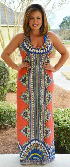 Perfectly Priscilla Boutique - Cruising to New Heights Maxi, $50.00 (http://www.perfectlypriscilla.com/cruising-to-new-heights-maxi/)