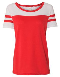 Put your design on this Womens Vintage 50 50 Jersey Stadium Tee - comes in 8c2659db6