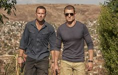 Sullivan Stapleton & Philip Winchester | Strike Back (P.S. I have a separate Phil board now... :) http://www.pinterest.com/natalie2plus3/philip-winchester/)