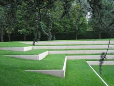 garten am hang This is our daily lawn mowing Terraced Landscaping, Modern Landscaping, Front Yard Landscaping, Landscaping Borders, Landscaping Ideas, Landscape Stairs, Landscape Architecture, Landscape Design, Landscape Bricks