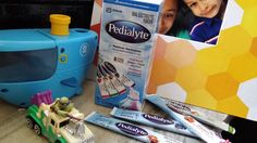 Pedialyte helps my family say #goodbyeflu #seethelyte AD