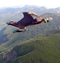 wingsuit avancée pour BASE Jumpers: Aura 2   Écureuil