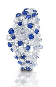 Graff sapphire and diamond Galaxy watch