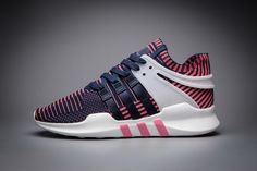 timeless design 1f3c8 aff37 Adidas EQT Support ADV Primeknit Deep Blue Pinky White BB3226 New Womens  Adidas Shoes, Adidas
