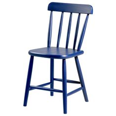 Cadeira com estrutura em madeira maciça de reflorestamento (Pinus Elliotti) torneada e pintada com acabamento em verniz poliuretano. Possui assento em MDF (Medium Density Fiberboard). Carga máxima suportável: 130kg.