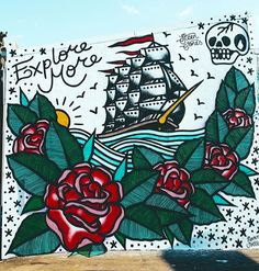 by Steen Jones in Sydney, (LP) Graffiti Tagging, Amazing Street Art, Sailor Jerry, Street Artists, Ink Art, Urban Art, Cool Words, Behind The Scenes, Illustration Art