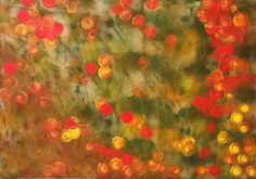 """""""sueños de otoño""""  acrílico s/cartón  35 x 50 cm"""