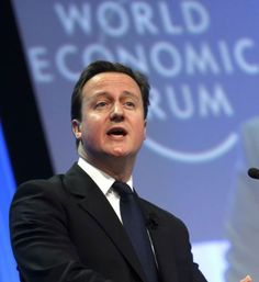 World Economic Forum: Business leaders warns David Cameron's EU membership gamble could strangle economy