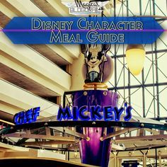 Chef Mickey's is one of the most popular character meals at Walt Disney World. Located at Disney's Contemporary Resort, you can watch the monorail zoom by as you enjoy breakfast or dinner with some of…