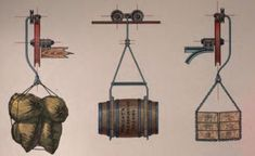 Aerial ropeways: automatic cargo transport for a bargain - LOW . Cargo Transport, Wooden Cart, Innovative Systems, Modern City, Urban Farming, 19th Century, Knots, Transportation, Chandelier
