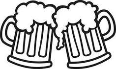 Resultado de imagen para beer silhouette