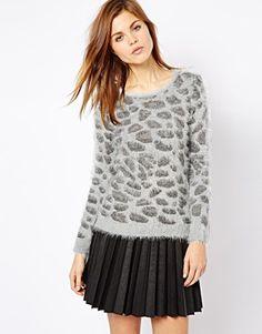 Immagine 1 di A Wear - Maglia con leopardo