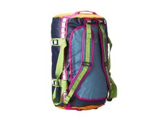 The North Face Base Camp Duffel Large Strom Blue/Cone Orange - Zappos.com Free Shipping BOTH Ways