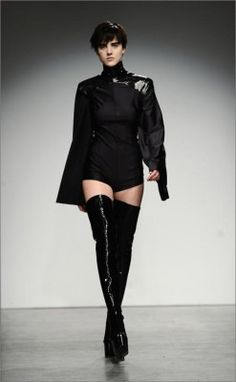 Pam Hogg alternative futuristic men fashion