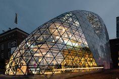 Blob, Eindhoven | Architect:  Massimiliano Fuksas  (2009)