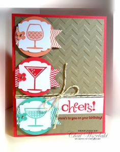 Happy Hour, Me, My Stamps and I, Stampin' Up
