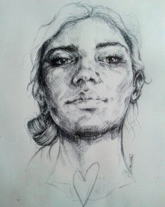 """""""Heart""""  Bic on paper"""