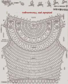 Crochet shirt graphs