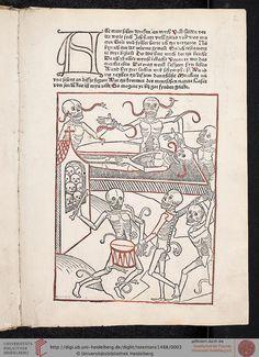 Heidelberger Totentanz Heidelberg: Heinrich Knoblochtzer, nicht nach 1488 [GW M47257]