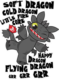 Soft Dragon Toothless by Kuitsuku on DeviantArt I literally dropped my iPad because of the cuteness!