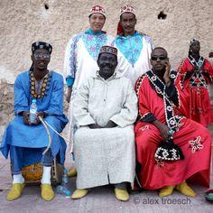 Maalem Mahmoud Ghania and his Gnawa Kouyou's.Morocco.