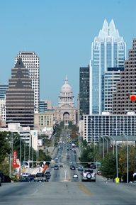 """Austin Texas...lived there for 8 + years...and miss it! Austin always felt like home...because it is the closest to a """"California state of mind"""" you can get in the South! Lol"""