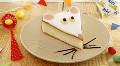 recette rigolte et facile   Recette gâteau au fromage kiri® - la souris kiri® - dessert rigolo