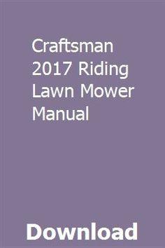 30 Best Riding Lawn Mower images in 2018   Best lawn mower, Best