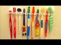 So have a look at this 24 DIY tooth brush holder ideas having been collected all over the web so that you get the best ones to get inspiration from. Toothbrush Organization, Toothbrush Storage, Wall Mounted Toothbrush Holder, Diy Toothbrush Holders, 3d Printing Diy, Teeth Care, Diy Hanging, Diy Storage, Storage Ideas